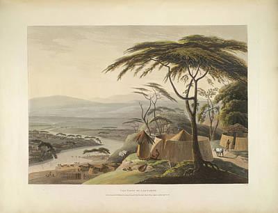 The Town Of Leetakoo Art Print by British Library