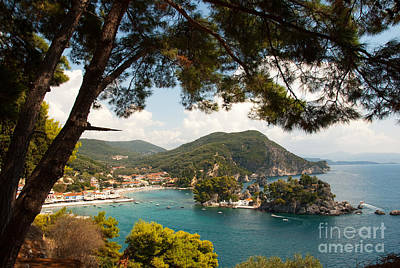 Photograph - The Town Of Parga - 2 by James Lavott