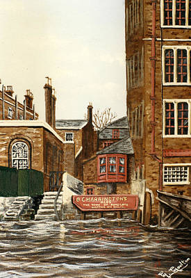 The Town Of Ramsgate Wapping London Art Print by Mackenzie Moulton