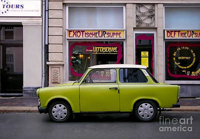 Photograph - The Trabant by Ari Salmela