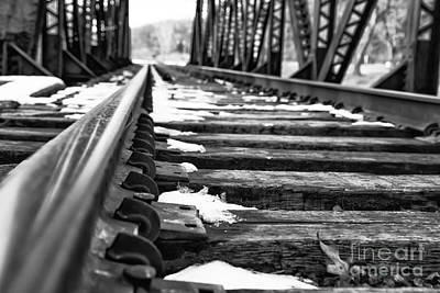 Photograph - The Tracks by Brad Marzolf Photography