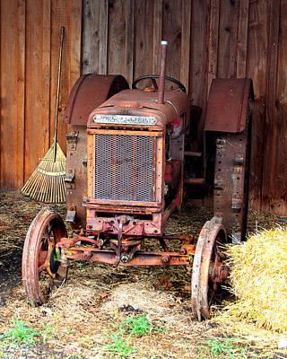 The Tractor Art Print by John Freidenberg