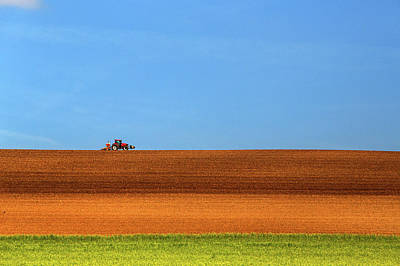 Tools Photograph - The Tractor by Massimo Della Latta