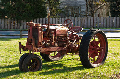 Photograph - The Tractor by Tikvah's Hope