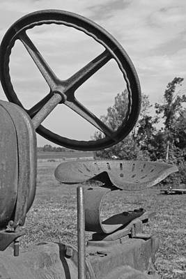 The Tractor Seat Art Print by Heather Allen