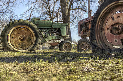 Photograph - The Tractors Of Old by Jason Politte
