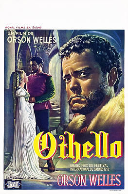 The Tragedy Of Othello The Moor Of Art Print by Everett