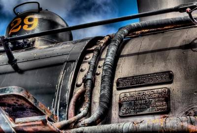The Train Art Print by DH Visions Photography