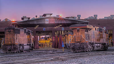 Photograph - The Train House by Jim Thompson