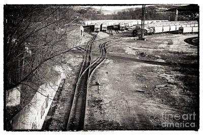 Photograph - The Train Yard by John Rizzuto