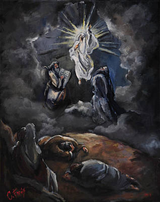 Transfiguration Painting - The Transfiguration by Carole Foret