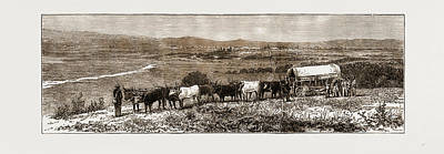 The Transvaal Gold Fields, South Africa, 1875 Pretoria Art Print by Litz Collection