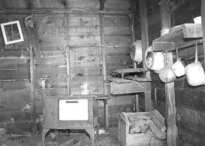 Photograph - The Trappers Kitchen by Gordon Collins