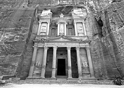 The Treasury At Petra Art Print
