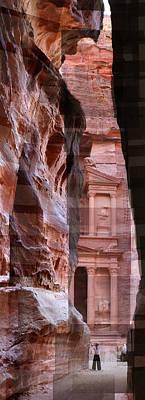 The Treasury Of Petra Jordan Art Print