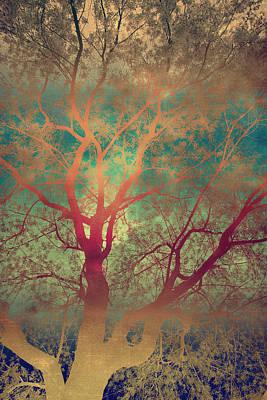 The Tree Called Beautiful Art Print by Gray  Artus