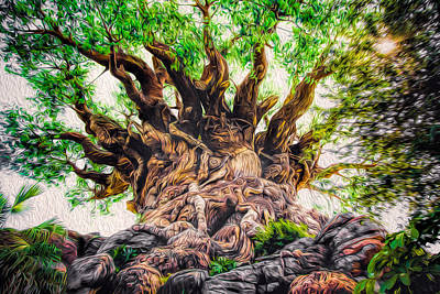 Art Print featuring the photograph The Tree by Joshua Minso