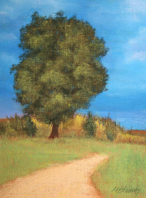 Pastel - The Tree by Marna Edwards Flavell