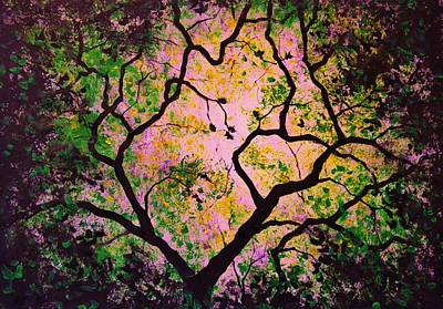 Painting - The Tree Of Life #2 by Thomas Kolendra