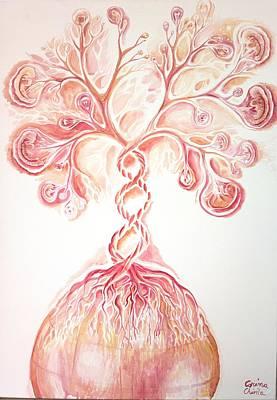 The Tree Of Life Original by Chirila Corina