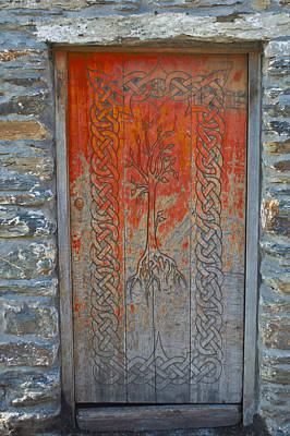 Photograph - The Tree Of Life Doorway by E j Carr