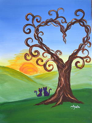 Painting - The Tree Of Love by Agata Lindquist