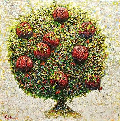 Painting - The Tree Of Love by Hayk Matsakyan