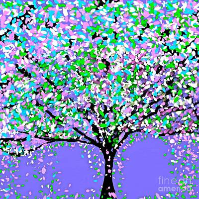 Painting - The Tree by Saundra Myles