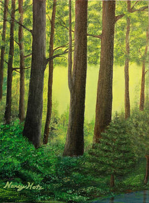 Painting - The Trees by Nancy Hotz