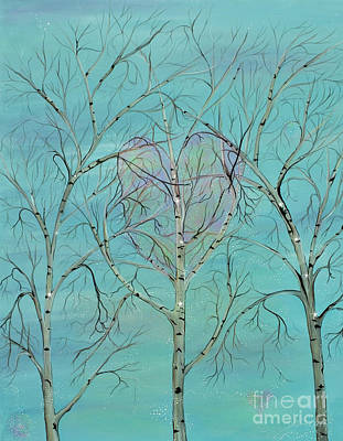 Painting - The Trees Speak To Me In Whispers by Deborha Kerr