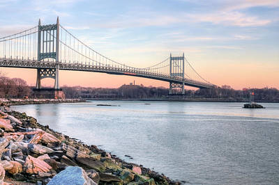 Photograph - The Triboro Bridge by JC Findley
