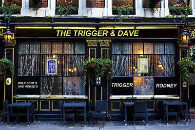 Photograph - The Trigger And Dave Pub by David Pyatt