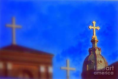 Art Print featuring the photograph The Trinity New Orleans Irish Channel by Michael Hoard