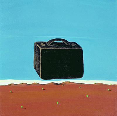 The Trip, 1999 Art Print by Marjorie Weiss