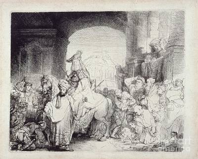 The Triumph Of Mordecai Art Print