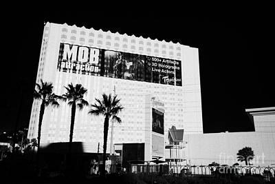 Tropicana Las Vegas Photograph - the tropicana hotel and casino Las Vegas Nevada USA by Joe Fox