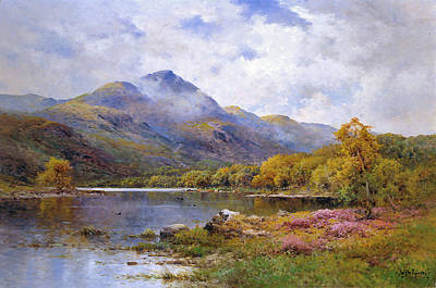 The Trossachs Ben  Art Print