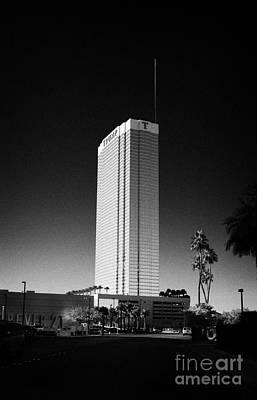 the trump luxury hotel condominium and timeshare Las Vegas Nevada USA Art Print