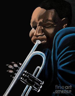 Painting - The Trumpeter by Barbara McMahon