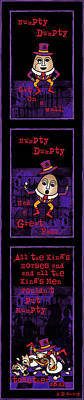 Fairy Digital Art - The Truth About Humpty Dumpty by Celtic Artist Angela Dawn MacKay