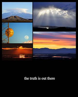Photograph - The Truth Is Out There by AJ  Schibig