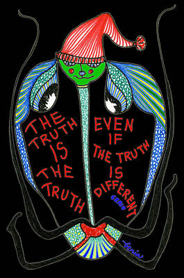Surrealism Royalty-Free and Rights-Managed Images - The Truth is the Truth... by Genia GgXpress