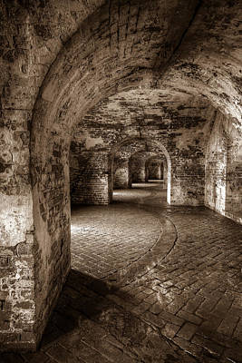 French Photograph - The Tunnels Of Fort Pike by Tim Stanley