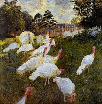 The Turkeys Art Print