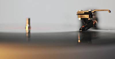 The Turntable Art Print by Andrea Di Bello
