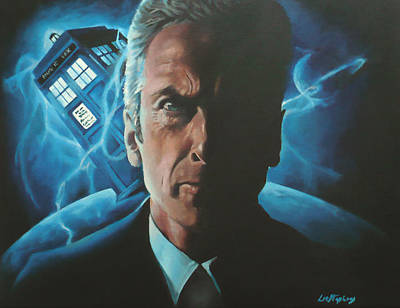 Twelfth Painting - The Twelfth Doctor / Doctor Who by Lorna Stephens
