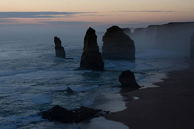 Photograph - The Twelve Apostles At Dusk by Phil Stone