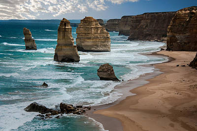 Photograph - The Twelve Apostles by Harry Spitz