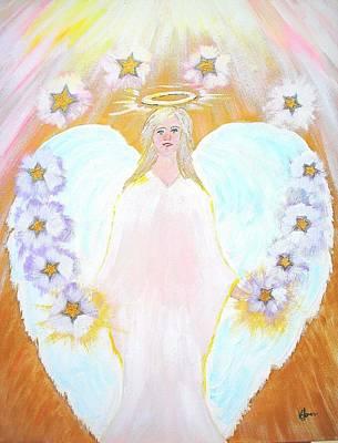 Angel Painting - The Twelve Tribes Of Israel by Karen Jane Jones