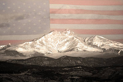 Photograph - The Twin Peaks - 9-11 Tribute  by James BO Insogna